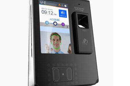 دستگاه تشخیص چهره اثر انگشت و کارت AC7000