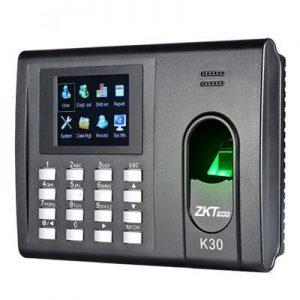 دستگاه حضور و غیاب اثر انگشتی و کارتی بدون تماس (K30(UA100
